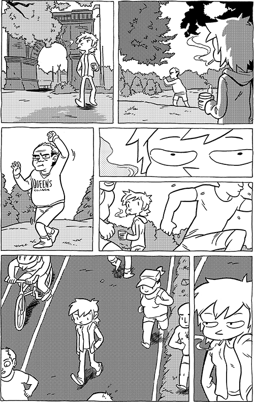 #706 – queens college (is the only text on this page)