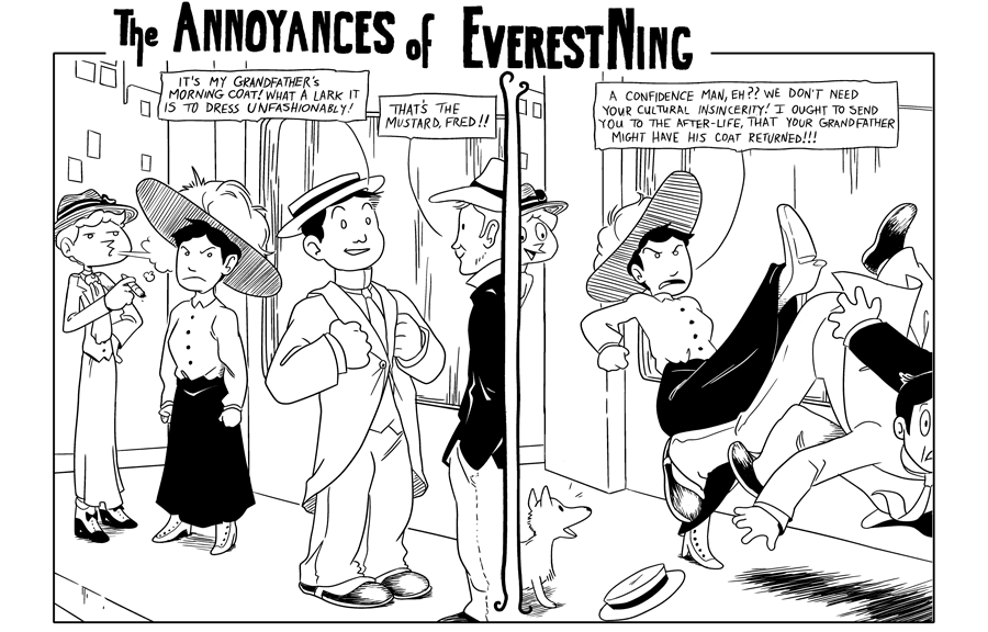 #085 – the annoyances of everest ning
